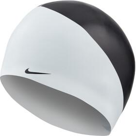 Nike Swim JDI Gorro de silicona, negro/blanco